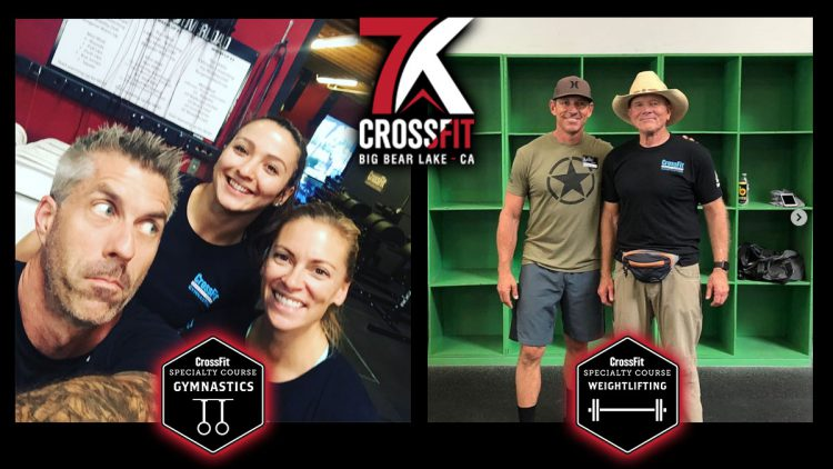 Pat & Andy for Further CrossFit Education